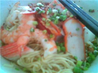 Sibu Thomson Corner seafood kampua